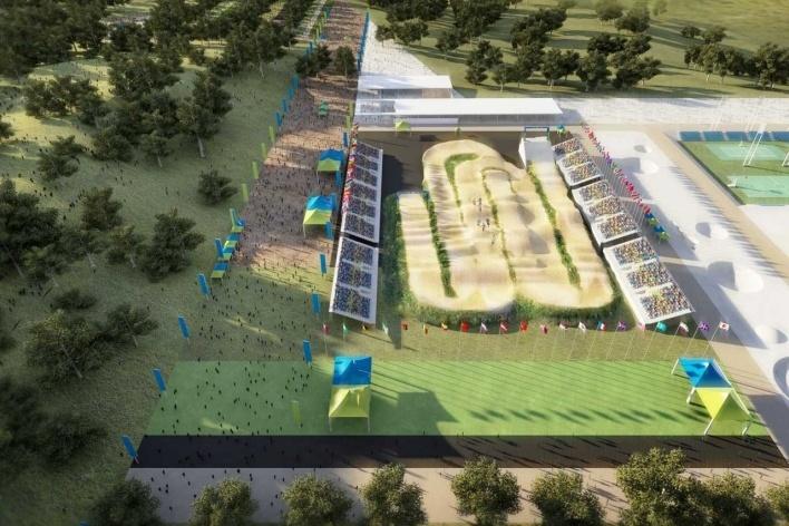 X-Park – Cycling<br />Rio 2016/BCMF Arquitetos