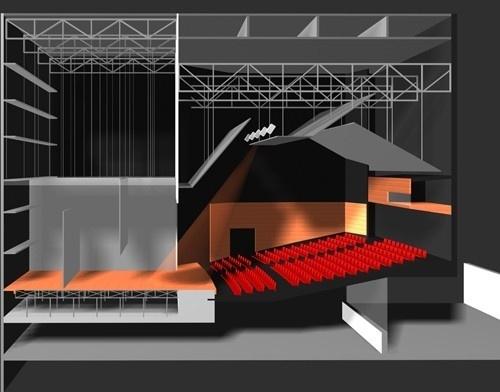 Teatro 2<br />Imagem do autor do projeto