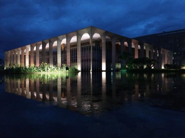 Palácio do Itamaraty, nov. 2018<br />Foto dos autores