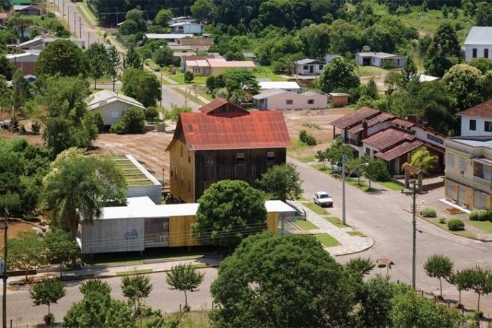 Museu do Pão, Ilópolis RS, Brasil Arquitetura<br />Foto Nelson Kon