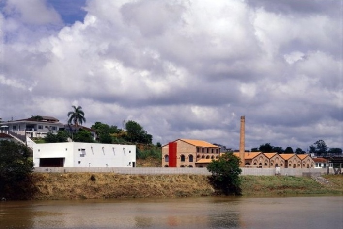 Centro Cultural KKKK, Registro SP. Reforma escritório Brasil Arquitetura<br />Foto Nelson Kon