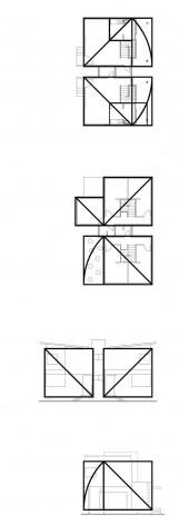Geometria. Concurso Habitação para Todos. CDHU. Sobrados – Menção Honrosa<br />Autores do projeto  [equipe premiada]