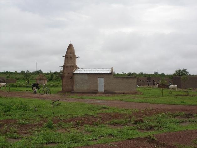 Mesquitas rurais, estrada de Bamako a Djenné, Mali<br />Foto Renato Barbieri