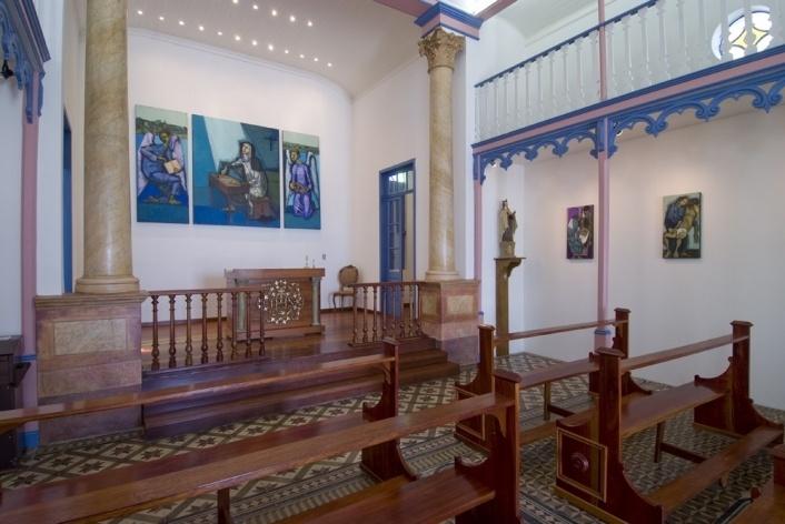Vista interna capela