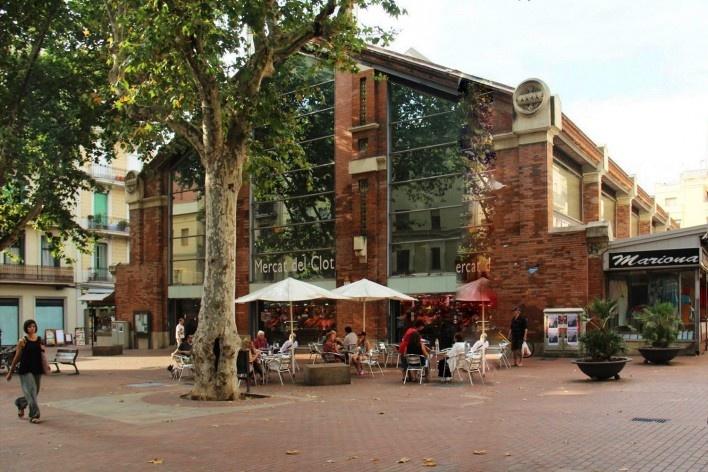 Mercado del Clot, Barcelona, Espanha<br />Foto Celma Chaves
