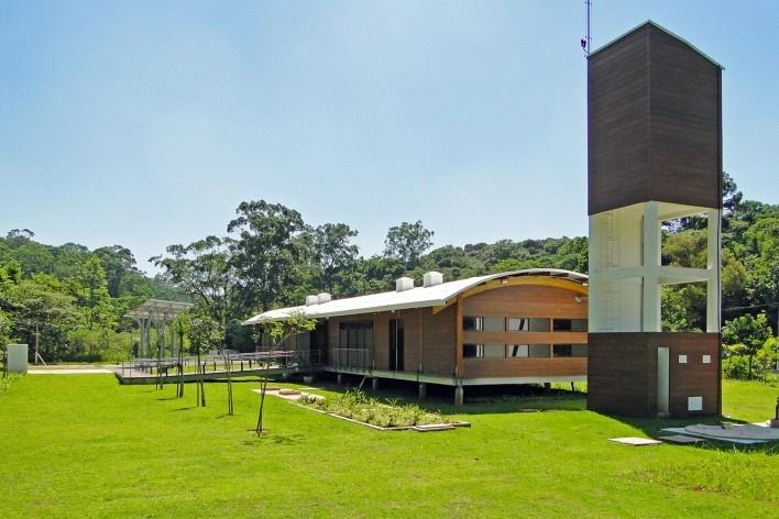 Sede Administrativa do Parque Natural Fazenda do Carmo, conjunto, São Paulo, Secretaria do Verde e Meio Ambiente – SVMA, 2018 Foto divulgação<br />Foto divulgação