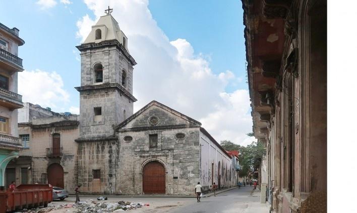 Igreja del Spiritu Santo, Habana Vieja, Cuba<br />Foto Victor Hugo Mori