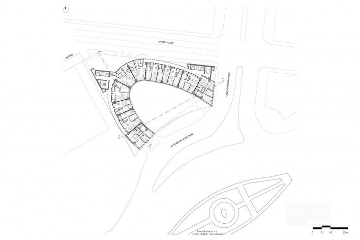Planta tipo<br />Diseño de los autores del proyecto  [Migdal Arquitectos]