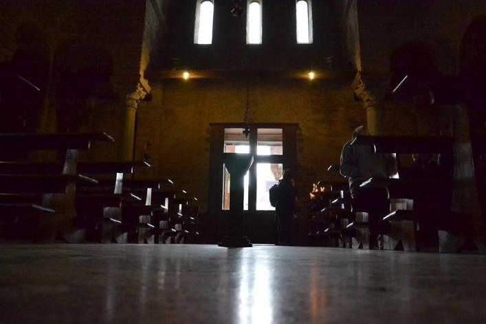 Interior da Basílica<br />Foto/photo Fabio Lima