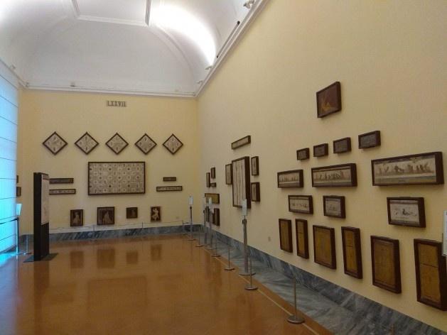 Museo Archeologico Nazionale di Napoli (Museu Arqueológico Nacional de Nápoles), Nápoles, Itália<br />Foto Carina Mendes dos Santos Melo, 2018