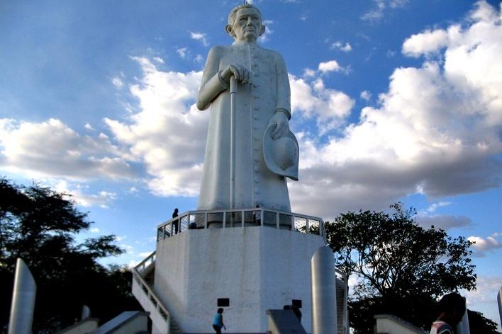 Estátua do Padre Cícero, Juazeiro do Norte <br />Foto Maísa Starck