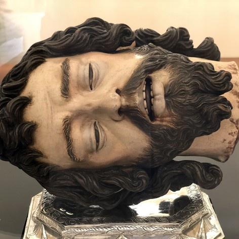 Juan de Mesa, Cabeça de São João Batista, 1625<br />Foto José Lira  [Acervo da Catedral de Sevilha]