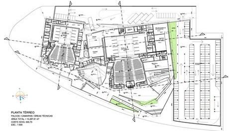 Planta pavimento térreo<br />Imagem do autor do projeto