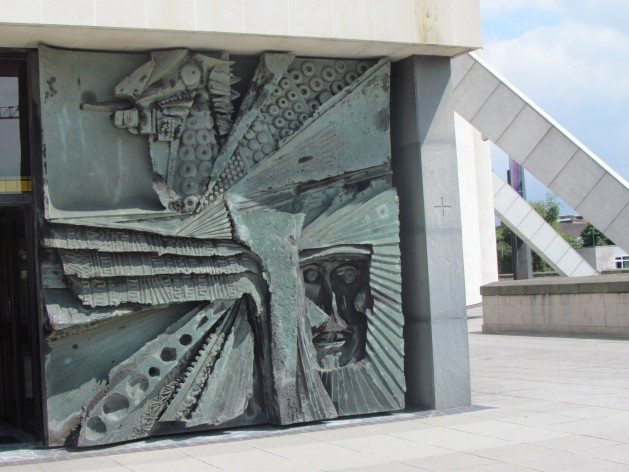 Detalhes da arquitetura da Catedral Metropolitana de Liverpool<br />foto Ana Paula Spolon