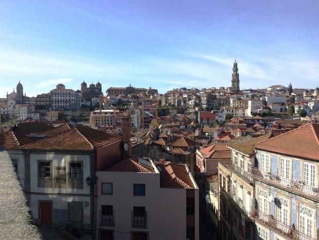 Porto, vista da cidade a partir da Catedral<br />Foto Anita Di Marco, 2018