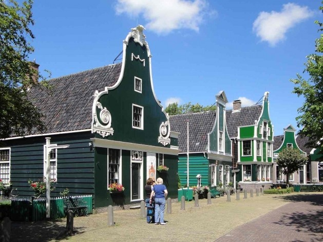 Casas para comerciantes de melhor poder aquisitivo, Kalverringdijk<br />Foto divulgação  [SteenhuisMeurs BV]