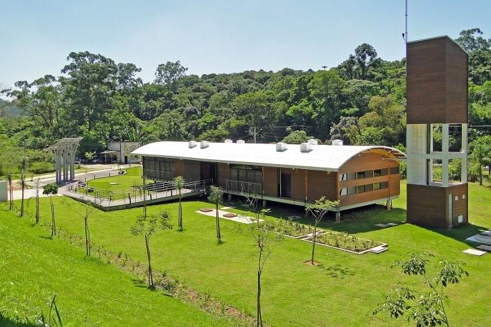 Sede Administrativa do Parque Natural Fazenda do Carmo, visão do conjunto, São Paulo, Secretaria do Verde e Meio Ambiente – SVMA, 2018<br />Foto divulgação