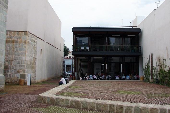 Intervención en el ex convento de San Pablo, arquitecto Mauricio Rocha Iturbide, Oaxaca, México, 2011<br />Foto Humberto González Ortiz