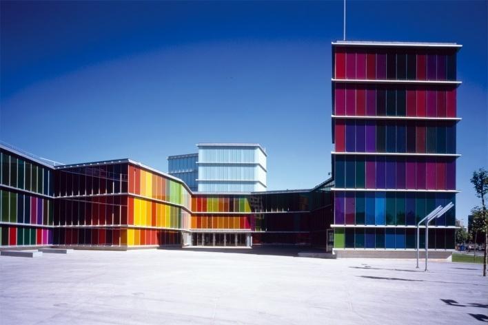 Museu de Arte Contemporânea de León, MUSAC, Moreno e Mansilla. Foto Luis Asín / Prêmio Mies van der Rohe 2007