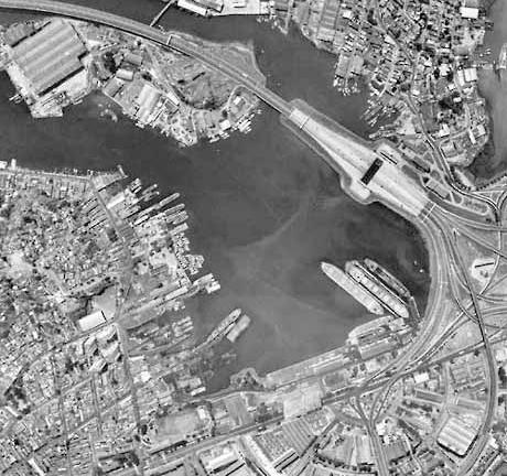 Área de intervenção – foto aérea<br />Imagem dos autores do projeto