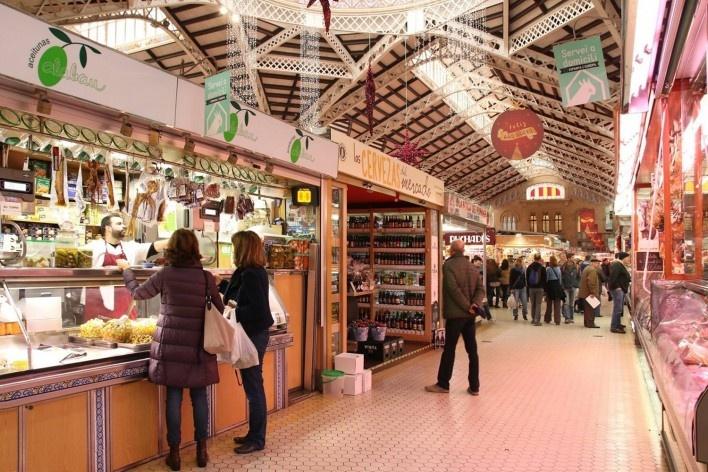 Mercado de Valência, Espanha<br />Foto Celma Chaves