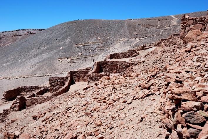 San Pedro de Atacama, Pucara de Quitor<br />Foto José Tabacow