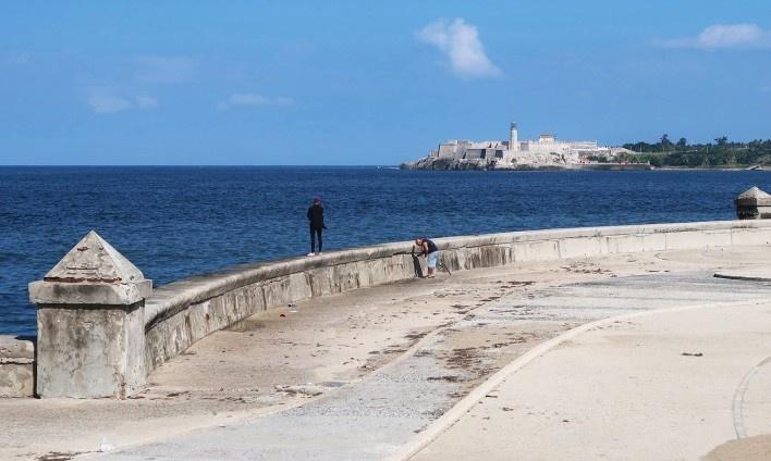 Malecón, Habana Vieja, Cuba<br />Foto Victor Hugo Mori