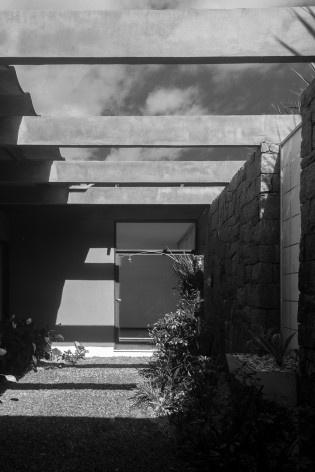 Residência da Rua Lages, Joinville SC. Arquiteto Luis Napoleão Carias de Oliveira<br />Foto Larry Sestrem