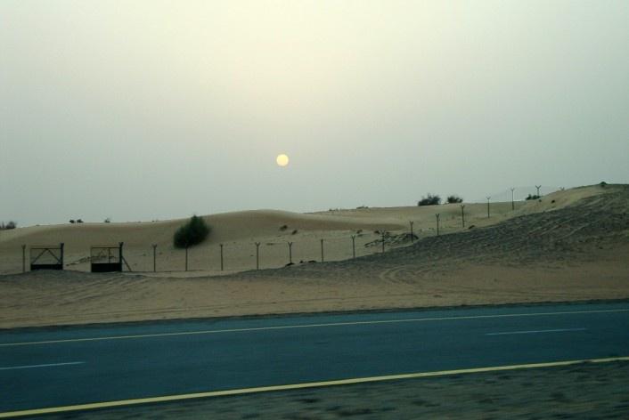 Entardecer no deserto<br />Foto Luiz Gustavo Sobral Fernandes