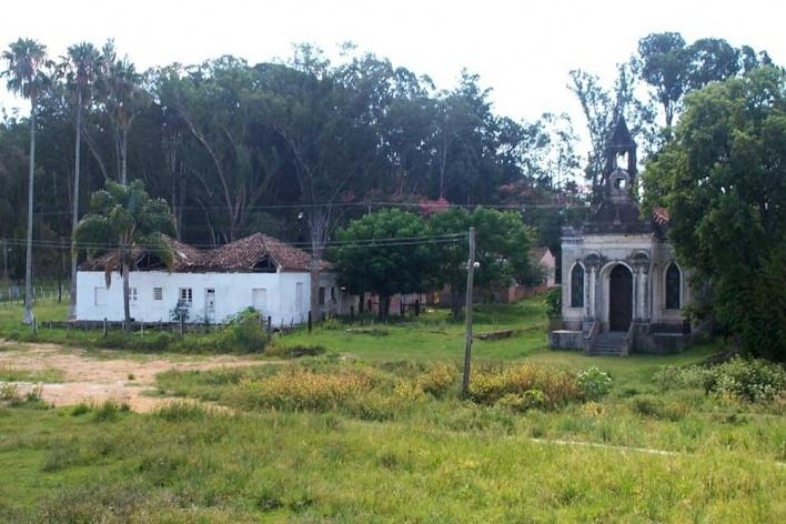 Foto 1: Situação encontrada em 2003