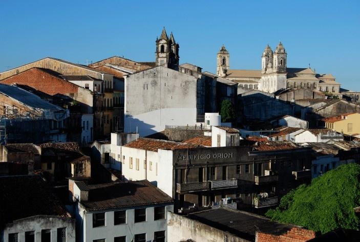 Centro Histórico de Salvador, cidade alta, panorama igrejas do Carmo, Convento e arredores<br />foto Fabio Jose Martins de Lima