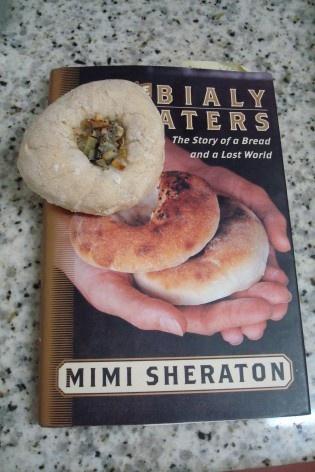 Tentativa de Bialy, sobre o livro<br />Foto Michel Gorski
