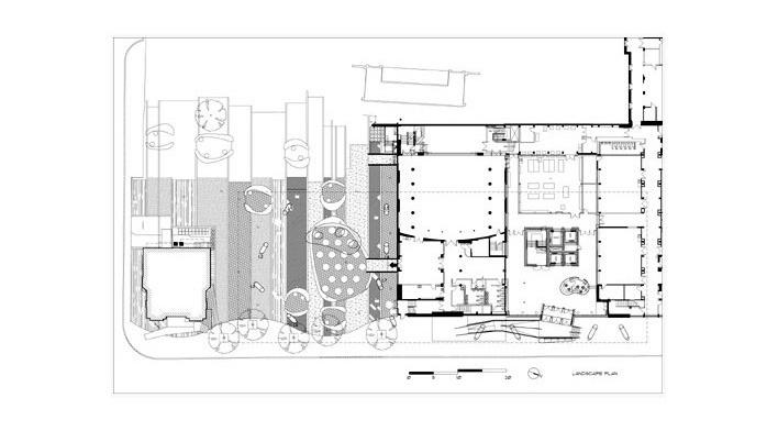 Sharp Center, implantação, Toronto, arquiteto Will Alsop, 2004<br />Imagem Alsop Architects