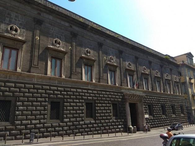 Palazzo Gravina, Via Monteoliveto, Nápoles, Itália<br />Foto Carina Mendes dos Santos Melo, 2018