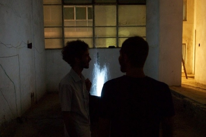 Exposição Projeto Imóvel, obra de Silvio de Camillis Borges<br />Foto Frans Kemper