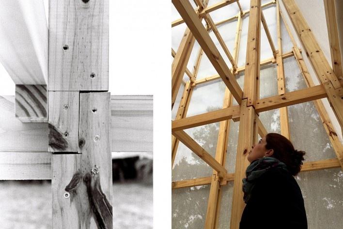 Observatório do Campo e das Estrelas, Ceibas, Entre Rios, Argentina, arquitetos Cássio Sauer e Elisa T Martins<br />Foto Cássio Sauer