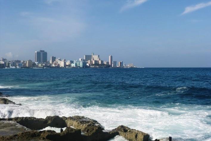 Malecón, Havana, janeiro 2015<br />Foto Patricia Orfila