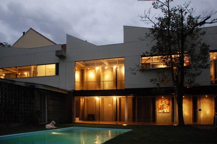 Casa de Ipanema, projeto e execução de Sergio M. Marques, 2007/2009