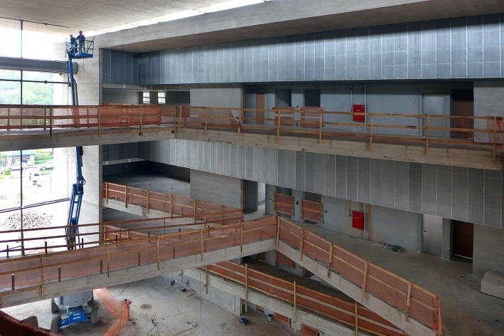 Museu do Trabalho e do Trabalhador, obras, São Bernardo do Campo. Escritório Brasil Arquitetura<br />Imagem divulgação  [Brasil Arquitetura]