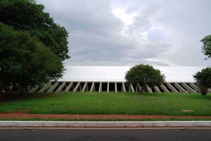 Escola Superior de Administração Fazendária – ESAF, restaurante, Brasília DF<br />Foto Daniel Corsi