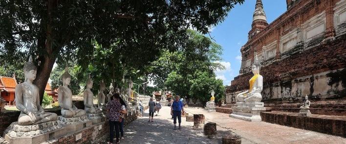 Templo de Wat Yai Chai Mongkhon, Birmânia<br />Foto Victor Hugo Mori