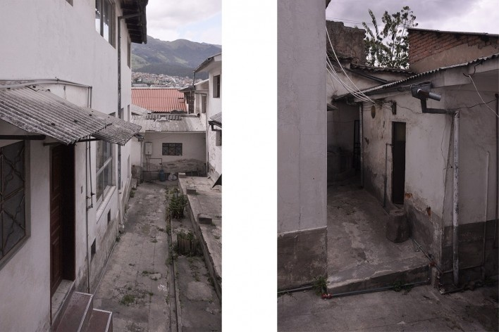 Casa en Construcción, estado original, Quito, Ecuador, 2014. Al Borde<br />Foto Al Borde
