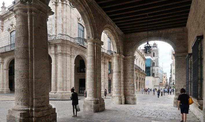 Palácio de los Capitanes Generales, Habana Vieja, Cuba<br />Foto Victor Hugo Mori