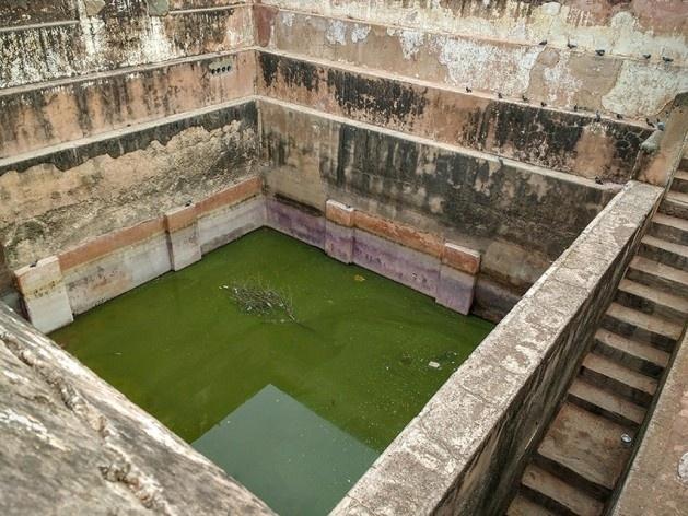 Cisterna do Forte de Jaigarh<br />Foto Carlos M Teixeira