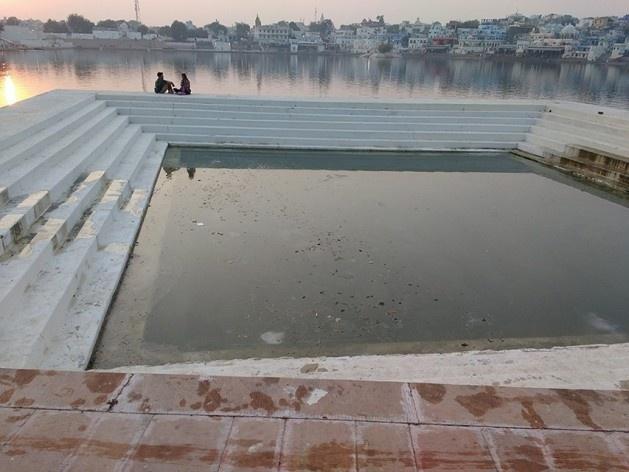 Lago de Pushkar<br />Foto Carlos M Teixeira