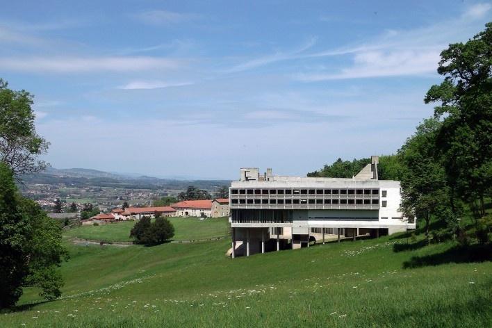 Convento de Santa Maria de La Tourette, Éveux, França. Arquiteto Le Corbusier<br />Foto Silvia Raquel Chiarelli, 2015