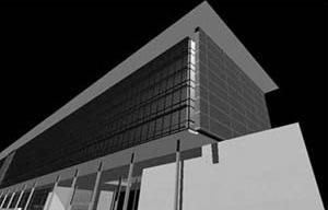 Vista da Prefeitura<br />Imagem dos autores do projeto