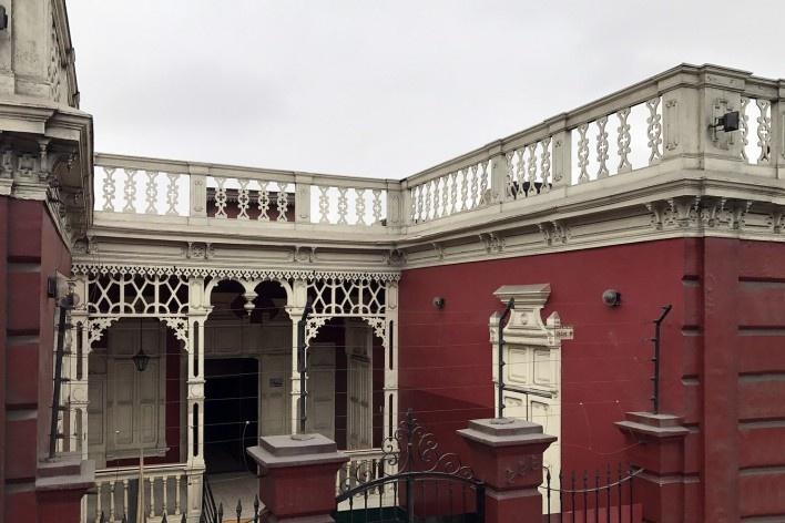 Moradia característica do distrito de Barranco, Lima<br />Foto José Lira