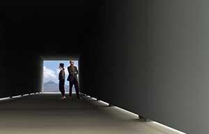 Interior da Galeria-Ponte<br />Imagem dos autores do projeto