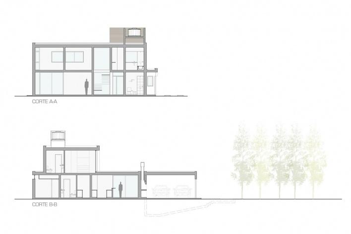 Cortes<br />Desenho I + GC [arquitectura]